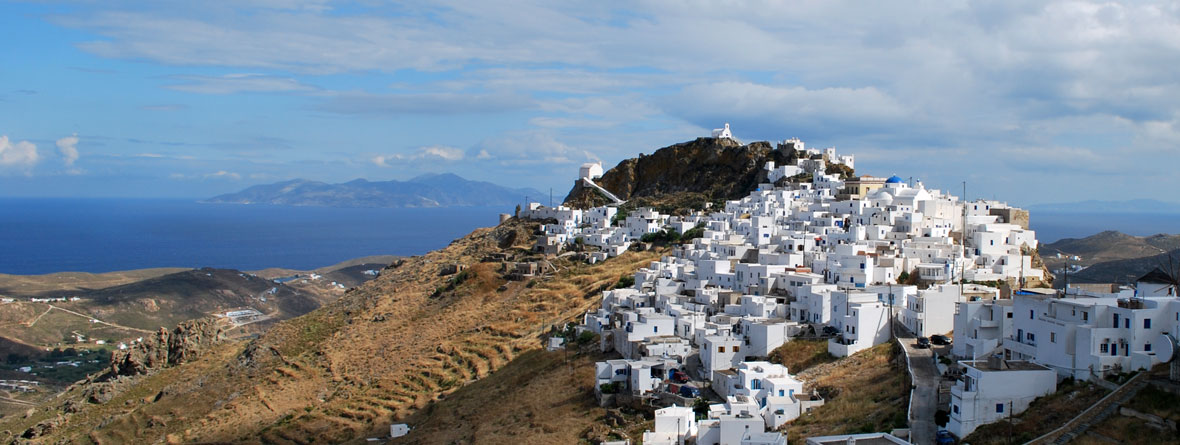 Hora, the capilal of Serifos